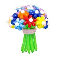 """Цветы из шаров """"Ассорти"""" 25 шт., , 3000 р., Цветы из шаров """"Ассорти"""" 25 шт., , Цветы из шаров"""