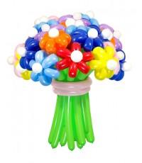 """Цветы из шаров """"Ассорти"""" 25 шт."""