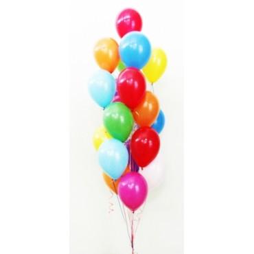 """Фонтан """"Ассорти"""" из 19 шаров"""