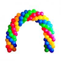 """Арка из шаров """"4 цвета""""   (1 метр), , 490 р., Арка из шаров """"4 цвета"""" 1 метр, , Арки из шаров"""