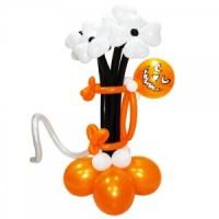 Цветы из шаров к Хэллоуину , , 1200 р., Цветы из шаров к хэллоуину , , Выставки, открытия