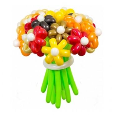 """Цветы из шаров """"Осенние краски"""" 25 шт."""