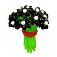 """Цветы из шаров """"Черная жемчужина"""" 25 шт., , 2700 р., Цветы из шаров """"Черная жемчужина"""" 25 шт., , Цветы из шаров"""