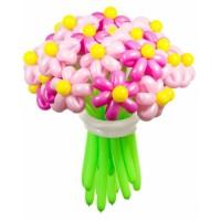 """Цветы из шаров """"Розовые мечты"""" 25 шт., , 2700 р., Цветы из шаров """"Розовые мечты"""" 25 шт., , Цветы из шаров"""