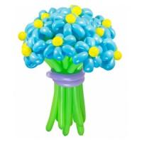 """Цветы из шаров """"Голубое небо"""" 25 шт., , 2700 р., Цветы из шаров """"Голубое небо"""" 25 шт., , Цветы из шаров"""