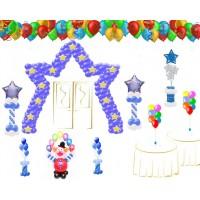 Оформление шарами пакет детский  № 4, , 15000 р., Оформление шарами пакет детский  № 4, , Оформление шарами