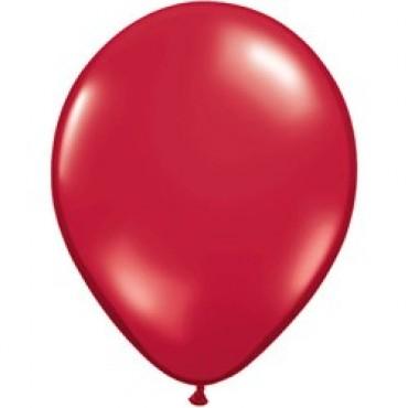 Шар (12''/30 см) Красный рубин, металлик, 100 шт.