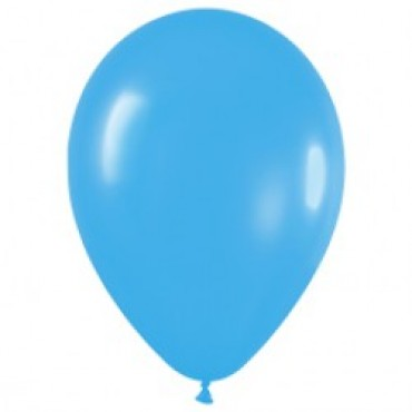 Шар (12''/30 см) Голубой (040), пастель, 100 шт.