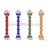 """Стойка из шаров линколунов 2 цвета """"Фонарь"""", , 2190 р., фонарь, , Стойки из шаров"""