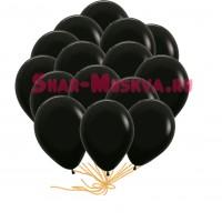 "Шары с гелием  ""BLACK"" (30 см) 25 шт., , 2090 р., BLACK, , Шары с гелием"