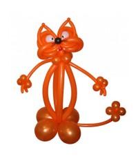 """Фигура из шаров """"Рыжий кот"""""""