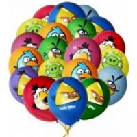 "Шары с гелием ""Angry Birds"" (35 см) 25 шт., , 2490 р., Шары с гелием ""Angry Birds"" , , Шары с гелием"