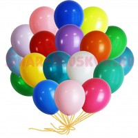 "Шары с гелием ""Ассорти 18 цветов"" (30 см) 25 шт., , 2290 р., Ассорти 18 цветов, , Для мужчин"