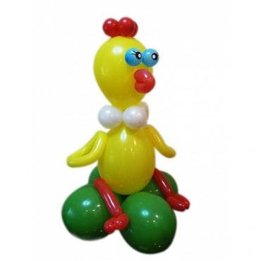 """Фигура из шариков """"Цыпленок"""""""