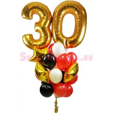 """Композиция из шаров """"Праздничная дата 3"""""""