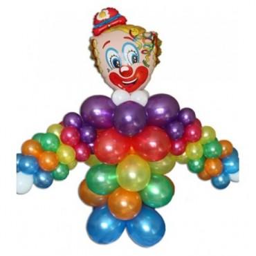 """Фигура из шариков """"Клоун"""""""
