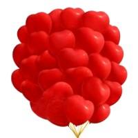 """Шары с гелием """"Большие сердца """" (38 см) 25 шт. Очень классные , , 2990 р., Шары с гелием """"Большие сердца """" (35 см), , Шары с гелием"""