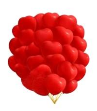 """Шары с гелием """"Большие сердца """" (38 см) 25 шт. Очень классные"""