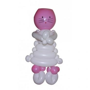 """Фигура из шаров """"Хелоу Кити"""""""