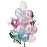 """Композиция из шаров """"Воздушная нежность"""", , 3090 р., Воздушная нежность, , Композиции из шаров"""