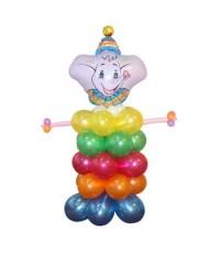 """Фигура из шаров """"Слоненок"""""""