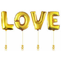 "Композиция из шаров ""LOVE"", , 3990 р., буквы LOVE, , Влюблённым"