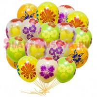 """Шары с гелием """"Осенние цветы"""" (35 см) 25 шт., , 2290 р., Шары с гелием """"Осенние цветы"""", , Шары с гелием"""