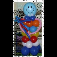 "Фигура из шариков ""Веселый клоун"""