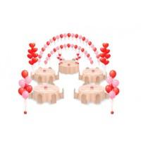 """Шары с гелием """"Пакет праздничный стандарт"""", , 5500 р., Шары с гелием """"Пакет праздничный стандарт"""" , , Оформление шарами"""