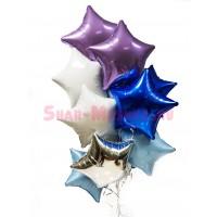 """Композиция из шаров """"Супер звезды"""" 12 шт., , 2890 р., Композиция из шаров """"Супер звезды"""", , Композиции из шаров"""