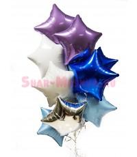 """Композиция из шаров """"Супер звезды"""" 12 шт."""