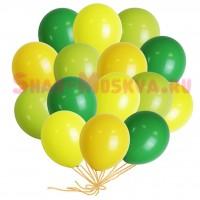 """Шары с гелием """"Летний день"""" (30 см) 25 шт. 4 цв., , 2090 р., Воздушные шары """"Летний день"""", , Шары с гелием"""