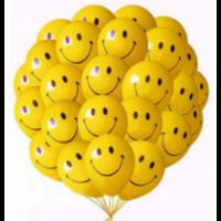 """Шары с гелием """"Смайлы улыбки"""" (35 см) 25 шт., , 2090 р., Шары с гелием """"Смайлы улыбки"""" , , Шары с гелием"""