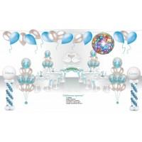 """Пакет для оформления праздничного зала """"Лебеди"""", , 12200 р., Пакет для оформления праздничного зала """"Лебеди"""", , Оформление шарами"""