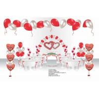 """Пакет для оформления праздничного зала """"Свадебный бум"""", , 10830 р., Пакет для оформления праздничного зала """"Свадебный бум"""", , Оформление шарами"""