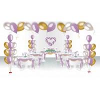 """Пакет для оформления праздничного зала """"Свадебный"""", , 5990 р., Пакет для оформления праздничного зала """"Свадебный"""", , Оформление шарами"""