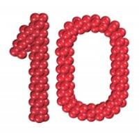Цифра из шаров (1 метр), , 1800 р., Цифра из шаров (1 метр), , Выставки, открытия