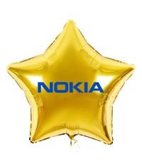 Логотип (надпись) на шарах, 45 см , Цвет шара, логотип на Ваш выбор