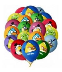 "Шары с гелием ""Angry Birds"" (35 см) 25 шт."