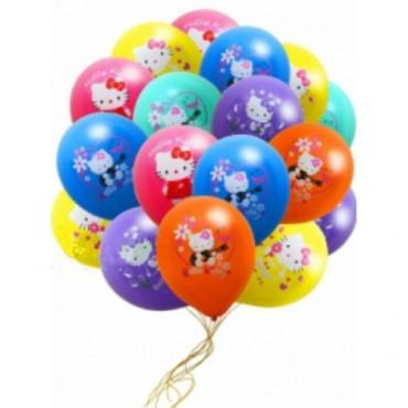 "Шары с гелием ""Hello Kitty"" (35 см) 25 шт."